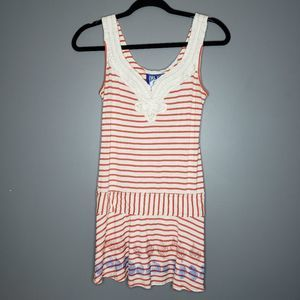 Free People Striped Beach Tunic coverup